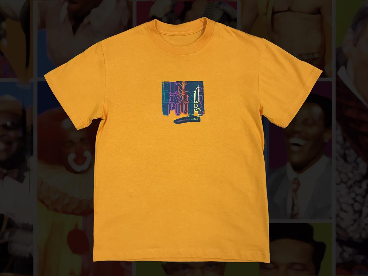 """【Seven Art Value】""""ILC"""" T shirt / color: ORANGE"""