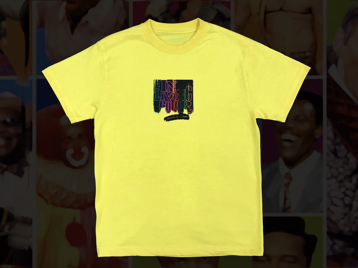 "【Seven Art Value】""ILC"" T shirt / color: YELLOW"